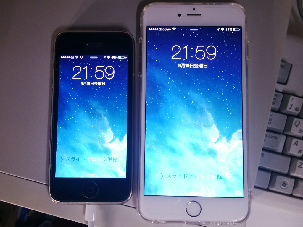 iPhone 6 Plus 買いました!