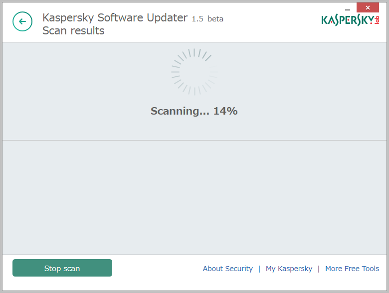 Kaspersky Security Scan3