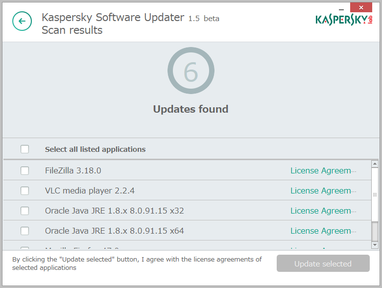 Kaspersky Security Scan4