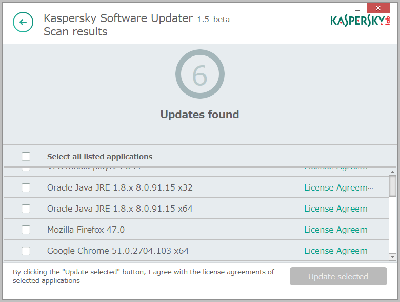 Kaspersky Security Scan5