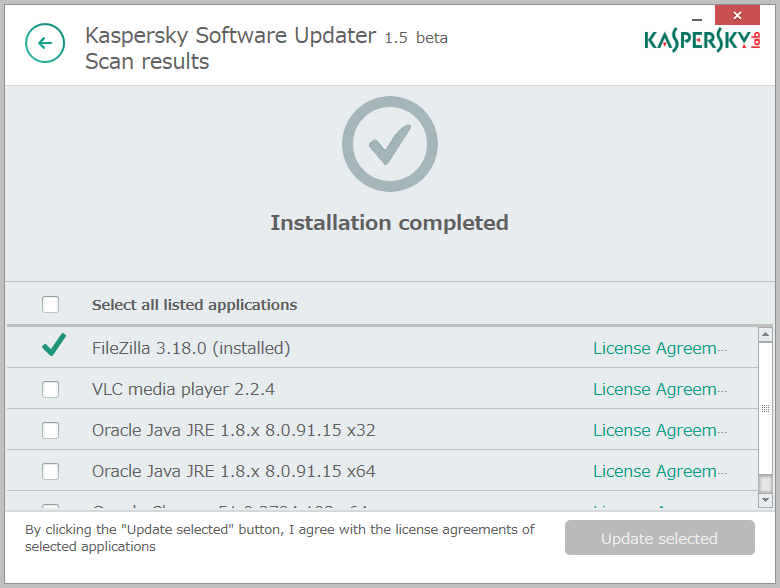Kaspersky Security Scan7