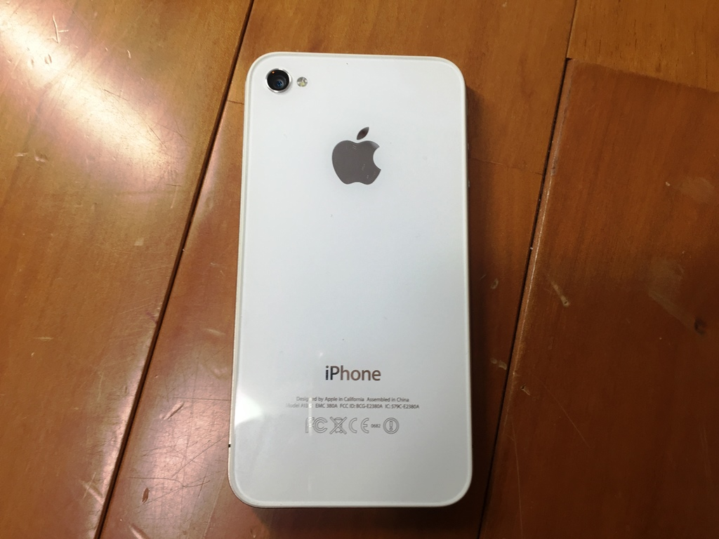 iPhone4 裏